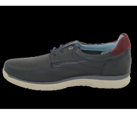 Zapato casual marino hombre