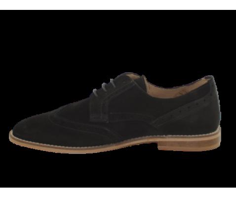 Zapato de vestir hecho en piel para hombre negro