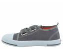 Zapatilla deportiva lona vaquero gris niño