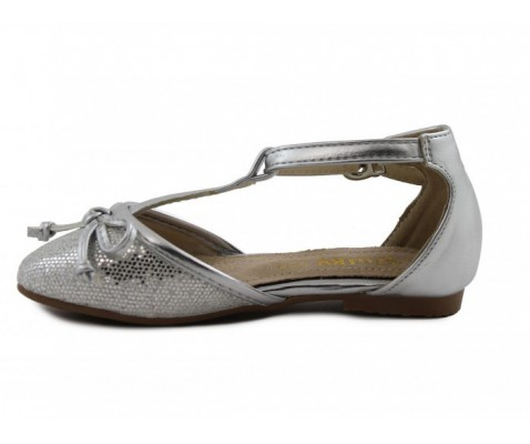 Bailarina con lazo plata niña - Benavente