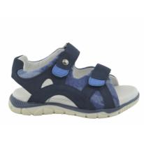 Sandalia cangrejera velcros azul marino niño