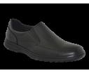 Zapato cómodo hombre negro