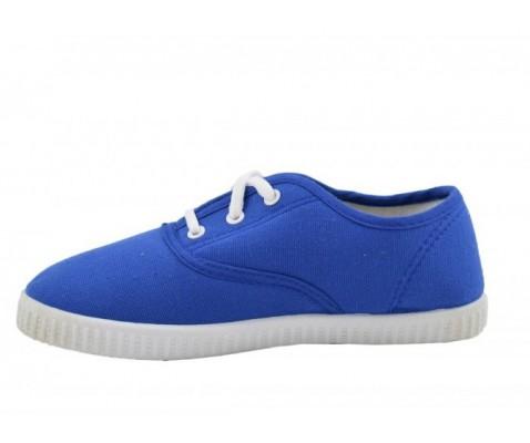 Zapatilla de lona royal blue niña/o - Benavente
