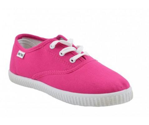 Zapatilla de lona rosa niña/o- Benavente