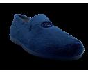Zapatillas cerradas para el hogar en color marino