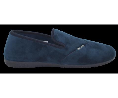 Zapatillas para el hogar azul marino cerradas