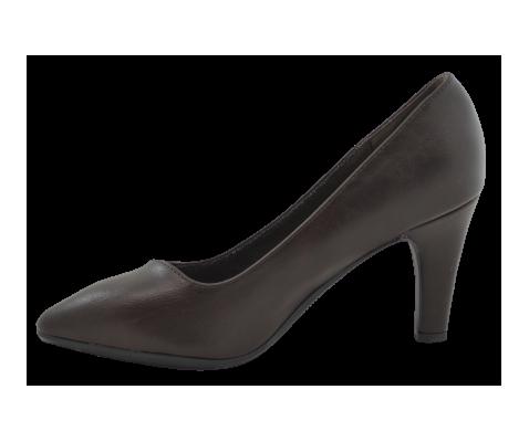 Zapato de salón marrón