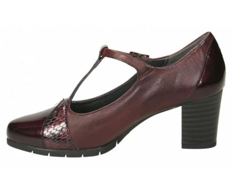 Zapato de salón Pitillos 5764 charol burdeos - Pitillos