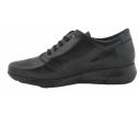 Zapato cómodo piel gaucho negro