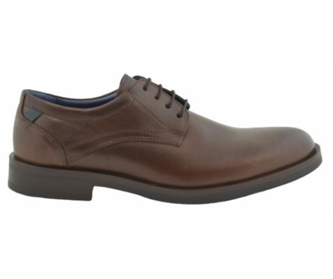 Zapato de vestir oxford piel marrón