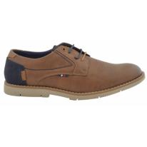 Zapato casual oxford 32231 cuero