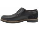 Zapato oxford vestir piel negro