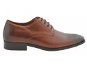 Zapato oxford de vestir piel troquelado cuero